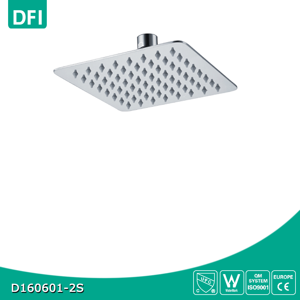 DFI stainless steel bathroom shower head