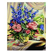 Roland Fragranc Painting DIY Painting By Numbers Kits Acrylic Paint On Canvas Handpainted Oil Painting For Wall Artwork 40x50cm