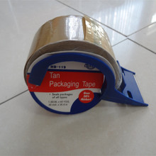 Brown Packing Tape with tape dispenser