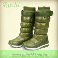high heel snow boots women