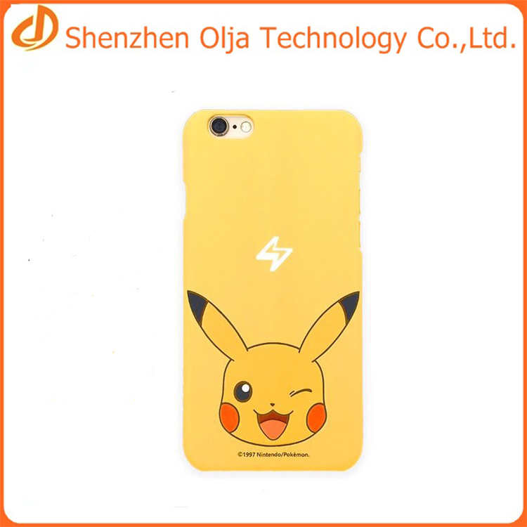 Hot selling 3d printing design your own phone case for iphone 6 plus pokemon go case