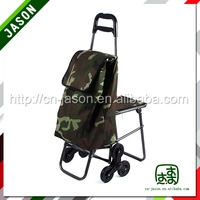 High quality shopping trolley bag with seat C3