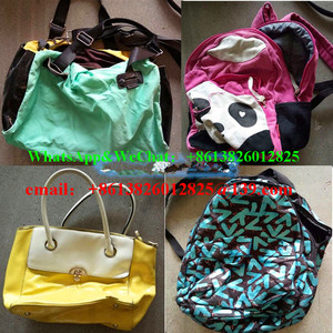 High quality cheap used clothes used bags for sale