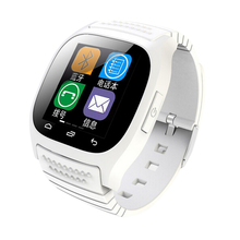 Smart Bluetooth Barometer Alitmeter Music Player Watch Smartwatch with LED Display for Android IOS Mobile Phone