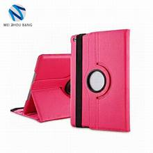 new arrival rotation stand style PU+PC Tablet Case For iPad Pro 9.7""