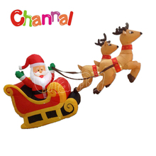 Best toys for 2016 Christmas gift Christmas Santa sleigh indoor decoration