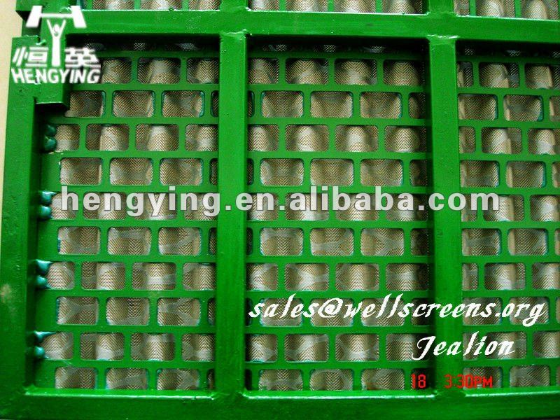 Steel frame screens/swaco mongoose shale shaker screen