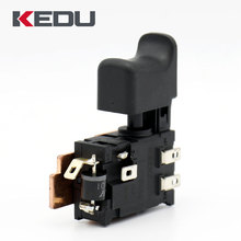 KEDU New Arrival 24V 25A High Current Step Variable Speed Switch With LED Outgoing Line