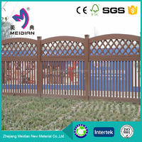 Direct Factory low maintenance wood composite fence