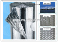 Double side aluminium foil single-layer air bubble heat insulation material