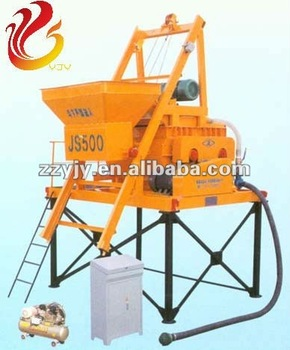 JS500 Twin-horizontal Forcible Concret Mixers