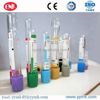 Factory Vacuum blood Test tube glass /plastic collection tube