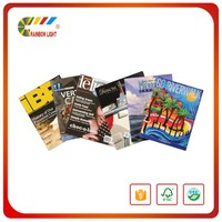 Reasonable price hot sell offset paper black&white printing softcover is land magazine