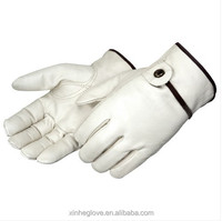 glove leather work soft sheep leather gloves