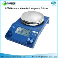 laboratory heaing equipment LCD Numeral Control Magnetic Stirrer for materials science