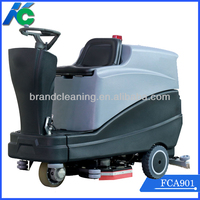 Multifunctional floor scrubber polisher machine