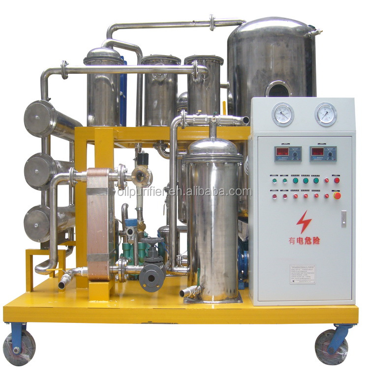Vacuum used cooking oil moisture reduction machine,pretreatment for biodiesel