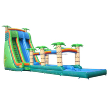 New types adult size big commercial inflatable waterslide inflatable swimming pool slide for cheap wholesale