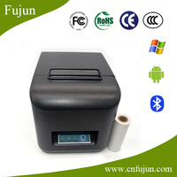 Bluetooth thermal dot receipt printer wireless 80mm with auto cutter