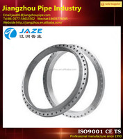 forged stainless steel different diameter flange gear ring