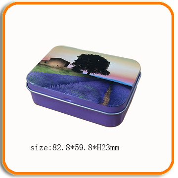 custom design soap metal tin packing boxes