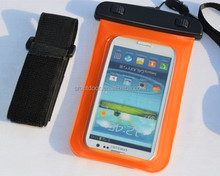 Waterproof Mobile Phone Case With Arm Blet PVC Waterproof Bag For Cell phone