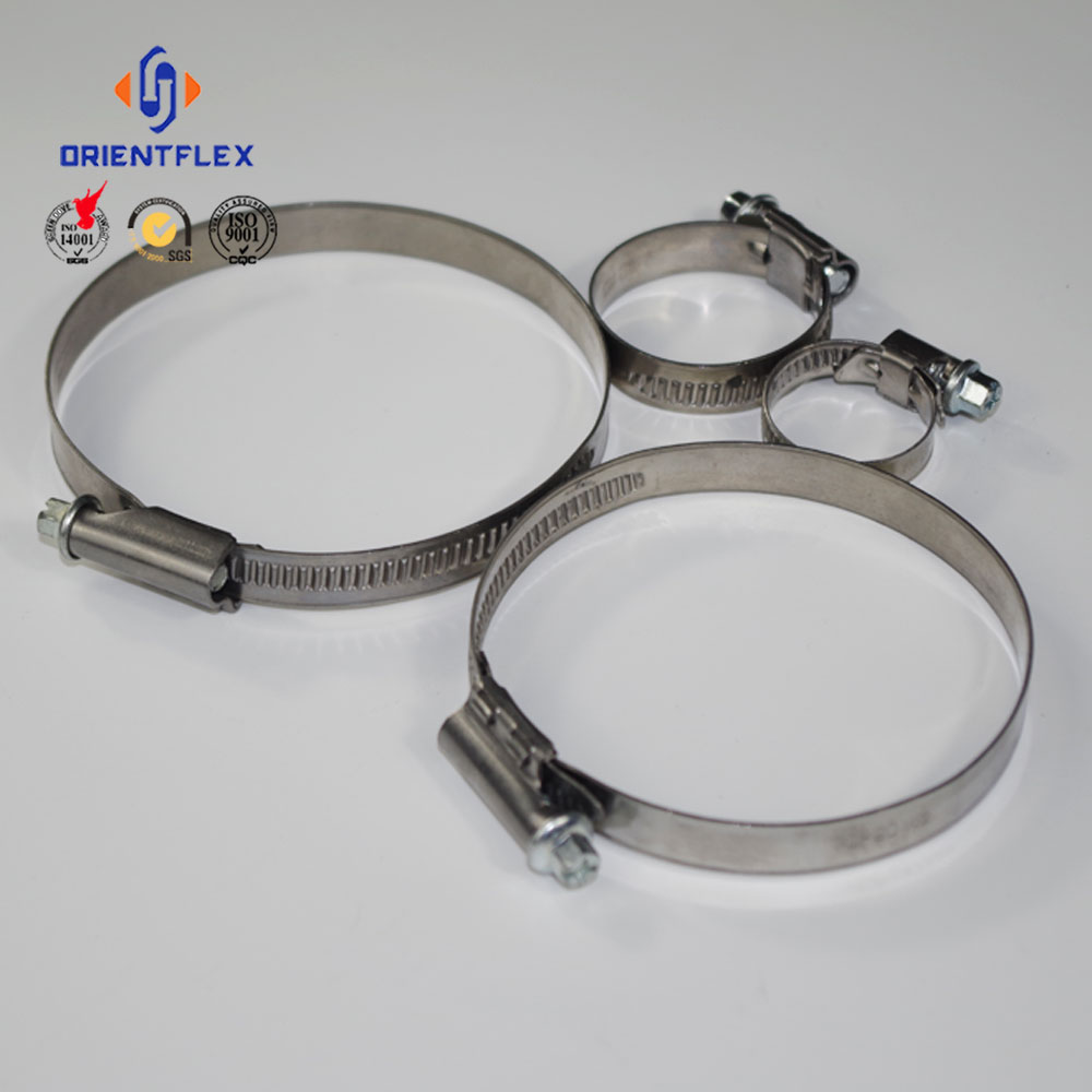 5mm 4mm German type of hose clamps custom hose clamps