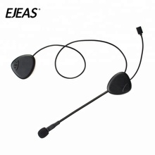 Waterproof wireless helmet earphone bluetooth motorcycle headset