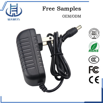 US Plug wall power adapter 15.6W 24v 0.65a dc adapter with CE FCC ROHS