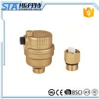 ART.5054 High temperature hydraulic 110 degree ,10bar , 145psi , ISO228/1 connection threaded forged body brass air vent valve