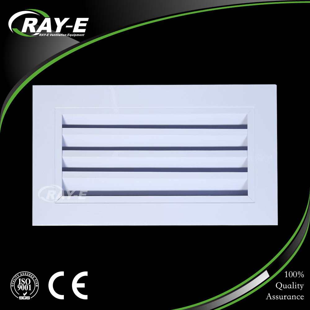 aluminum ventilation waterproof louver vent ceiling fresh air grille for HVAC system