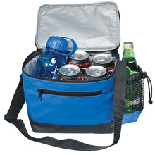 2018 Hot Selling Insulated Cooler Bag with front zipper pocket