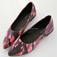 2016 hot selling pictures of women flat shoes