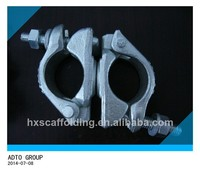 Forged rotatable clips scaffolding clips