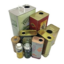 factory directly olive oil tin cans 500ml olive oil tin packing