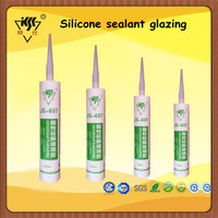 RTV Transparent glazing silicone acetic sealant