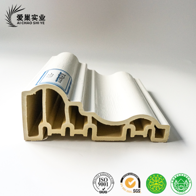 WPC Material Moulding waist line for home decoration