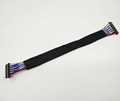 190mm UL1061 JAE 20Pin connector LVDS cable with acetate tape for lcd monitor