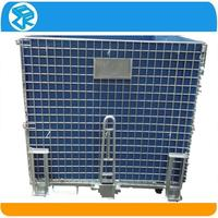 Alibaba express stacking wire mesh galvanized steel crate