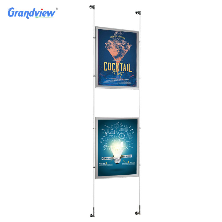 2019 Customized size restaurant menu board or picture frame acrylic photo frame slim crystal LED light box for <strong>advertising</strong>