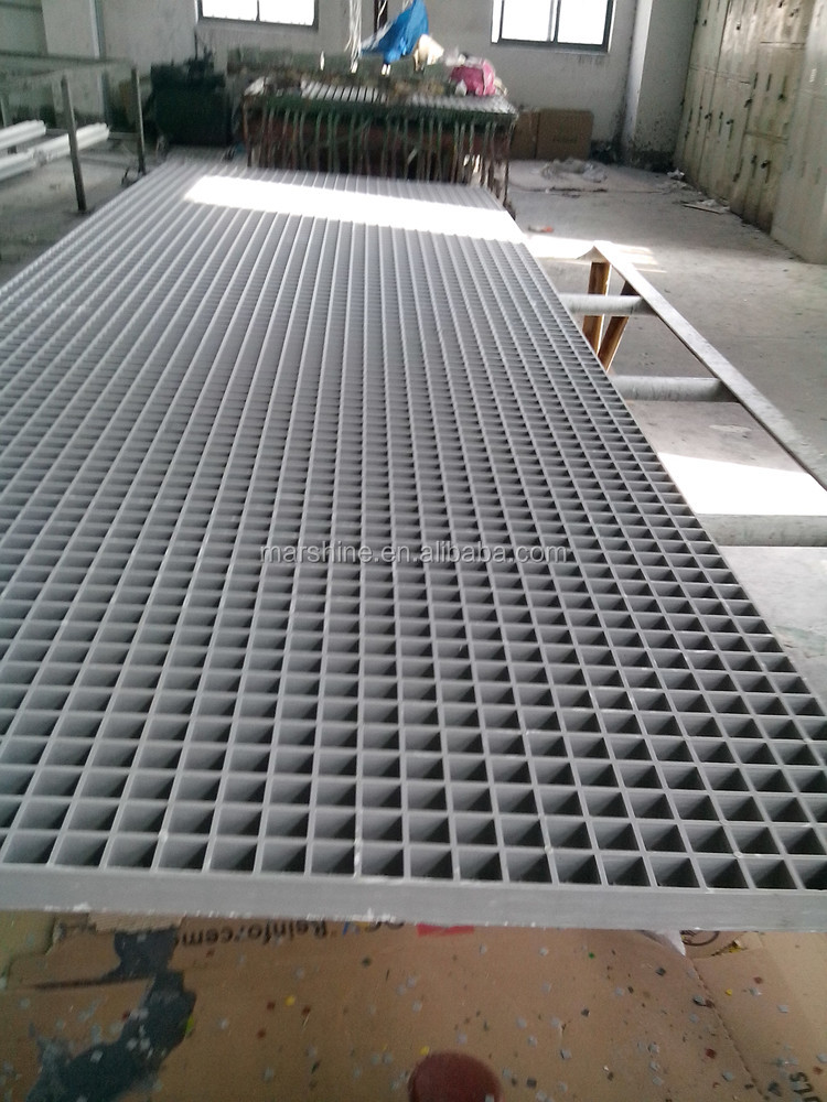 Marshine Factory Supply Non rust and chemical resistance frp moulded grating