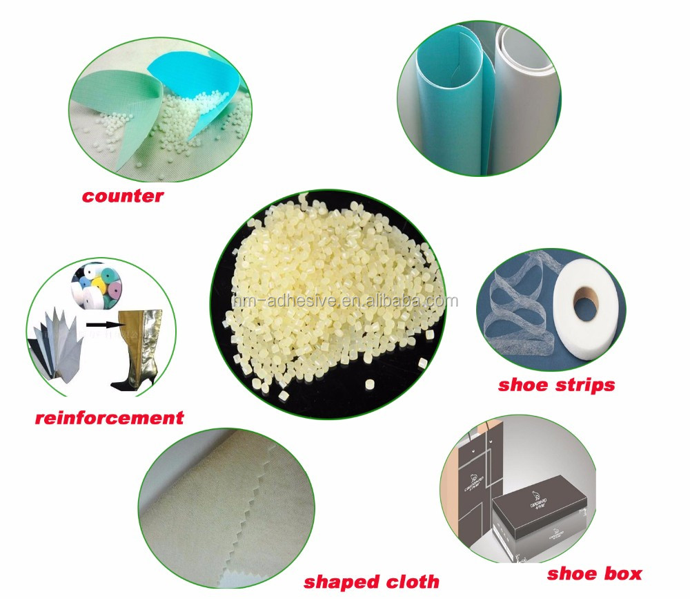 tpu hot melt adhesive film for shoes making
