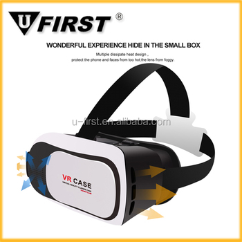 New products vr 3d glasses for sexy movie Attractive 3d vr box