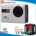 SDV-8000W Waterproof HD 24fps 170 Degree 2 inch LCD WiFi Action camera 4K