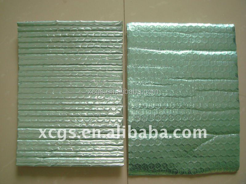 Radiant Barrier Foil, Thermal Insulation Flooring Underlay Bubble Aluminum Foil