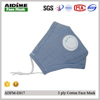 Activated carbon filter face mask customise label