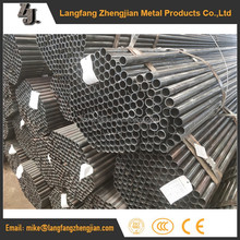 Q195 MS Tensile Strength Round ERW schedule 80 steel pipe