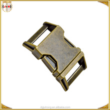 New Strong Antique Metal Side Release Buckle for Backpack Strap