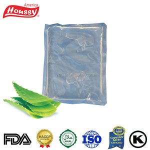 Houssy food and cosmetics use natural organic aloe vera gel