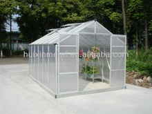 Patent innovative new products--aluminium greenhouse with 6mm polycarbonate sheet HX66 series